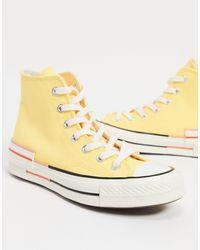 Converse Желтые Высокие Кеды Chuck 70-желтый