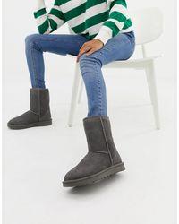UGG Серые Ботинки Classic Short Ii-серый - Многоцветный