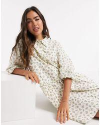 Y.A.S Smock Shirt Dress - Multicolour