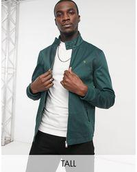Farah Зеленая Куртка Харрингтон Hardy-зеленый Цвет