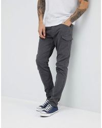 Esprit Tapered Fit Cargo Trouser - Grey