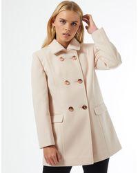 Miss Selfridge Dolly Coat - Pink