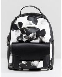 Claudia Canova - Floral Print Backpack - Lyst