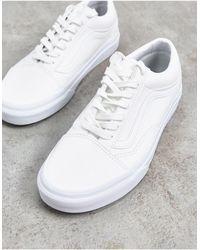 Vans Chaussures Classic Comfycush Authentic - Blanc