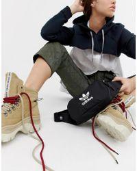 adidas Originals - Trefoil Bumbag In Black - Lyst