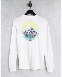 Element – Balmore – Langärmliges Shirt - Weiß