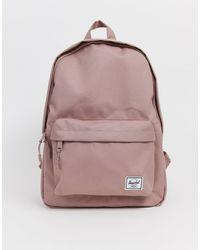 Herschel Supply Co. Classic Pink Backpack - Metallic