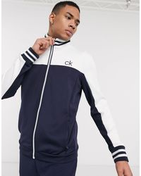 Calvin Klein - Retro Performance Zip-thru Jacket - Lyst