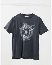 TOPSHOP 'out Of This World' T-shirt - Gray