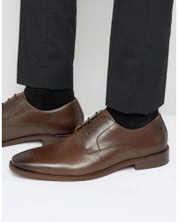 Kurt Geiger - Zac Leather Derby Shoes - Lyst