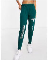 Adolescent Clothing Pantalon confort à imprimé Overworked - Vert