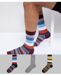 Barbour - Heywood Giftbox 3pk Socks - Lyst