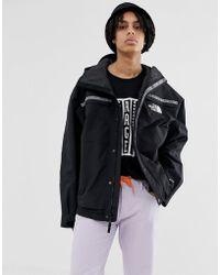 The North Face 92 Retro Rage Rain Jacket In Black