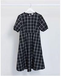 Vila - Smock Dress - Lyst