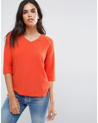 B.Young - V Neck Shell Top - Lyst