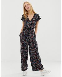 B.Young Printed Jumpsuit - Multicolour
