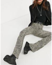 TOPSHOP Flare Pants - Multicolor