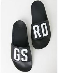 G-Star RAW Cart Sliders-black