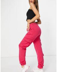 Naanaa Utility Cargo jogger - Pink