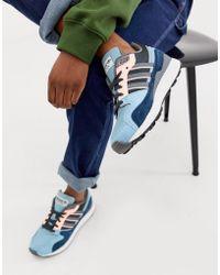 Adidas Jeans Baskets Collegiate Navy Cendre Blue Gum Baskets Chaussures