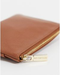 Paul Costelloe - Leather Small Zip Top Purse - Lyst