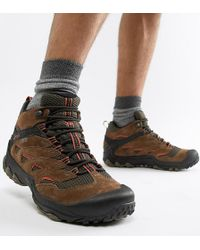 Merrell Chameleon 7 Limit Hiking Festival Boots - Grey