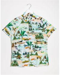 Jacamo Short Sleeve Top - Green