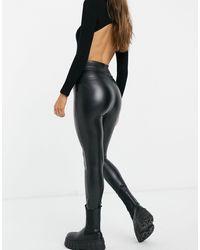 Abercrombie & Fitch Legging zippé - Noir
