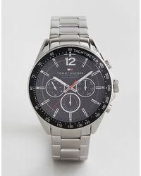 Tommy Hilfiger – 1791104 Luke – Uhr mit silbernem Armband - Mettallic