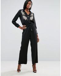 River Island | Embellished Boiler Suit | Lyst