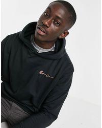 Mennace Essential Regular Hoodie - Black