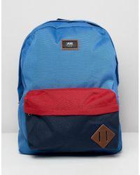 87b2468e0799a7 Vans Van Doren Ii Backpack in Black for Men - Lyst