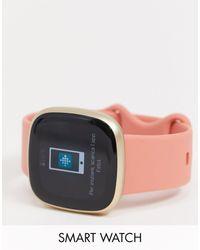 Fitbit Versa 3 Womens Smart Watch - Pink