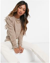 Vero Moda Lounge Sweater Set - Natural