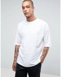 ASOS | Oversized T-shirt In White | Lyst