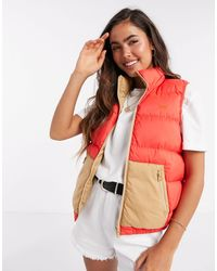 Levi's Lydia Reversible Padded Gilet - Red