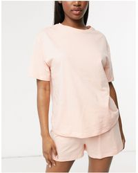ASOS Mix & Match - T-shirt - Rose