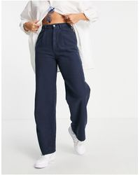 ASOS 'relaxed' Dad Trousers - Blue