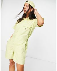 Dickies Dovray Playsuit - Green