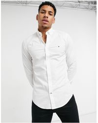 Tommy Hilfiger Skinny Fit Shirt - White