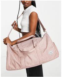 Herschel Supply Co. . Novel Mid-volum Duffle Bag - Pink