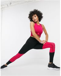 PUMA Logo Cropped leggings - Pink