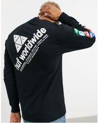 Huf Camiseta - Negro