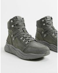 AllSaints All Saints Brant Hiker Sneakers - Gray