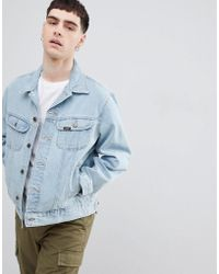 Lee Jeans - Rider Jacket In Stonewash - Lyst