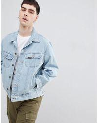 Lee Jeans - Rider Jacket In Stonewash - Lyst