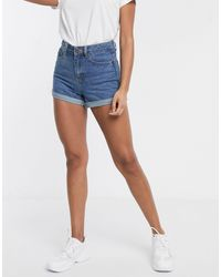 Liquor N Poker Boyfriend Short - Blauw