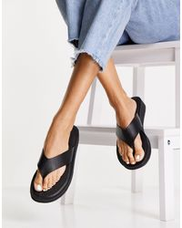 Lipsy Wedge Sandals - Black