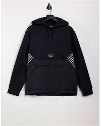 adidas Originals Sprt - Premium Hoodie Met Trefoil-logo - Zwart