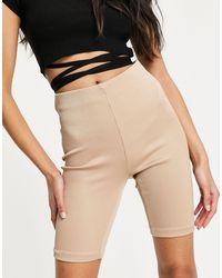 Pimkie Ribbed legging Shorts - Multicolour